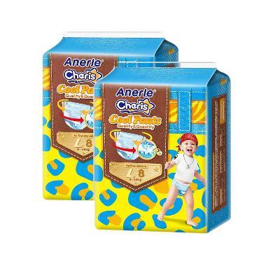 Anerle Cheris Popok Bayi [Size L8x 2 Trial Pack]