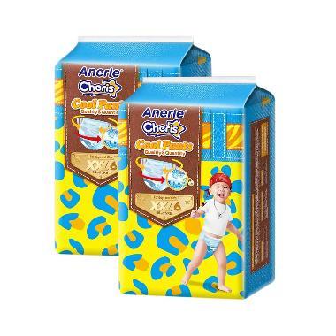 Anerle Cheris Popok Bayi [Size XXL6x2 Trial Pack]
