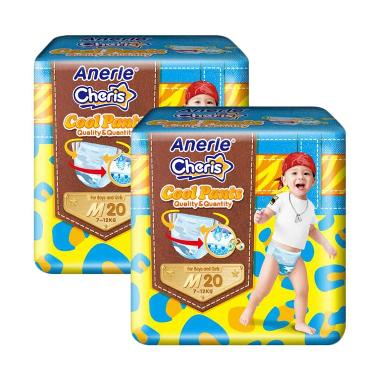 Anerle Cheris Popok Bayi [Size M20x2  Regular Pack]