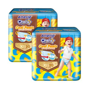 Anerle Cheris Popok Bayi [Size XL20x2 Regular Pack]