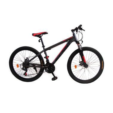harga Genio Tulsa 26 Sepeda MTB - Grey Black Red Blibli.com
