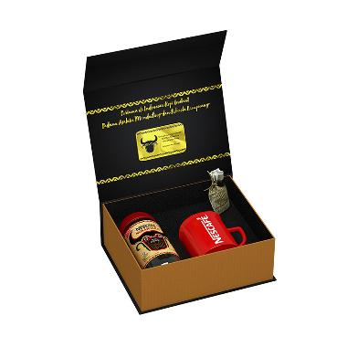 Nescafe Nusantara Jar Gift Set [100 g] + Free 1 Pcs Mug