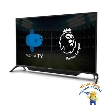 harga POLYTRON PLD-43AS1558 LED Mola Smart TV [43 Inch] - black JABODETABEK Blibli.com