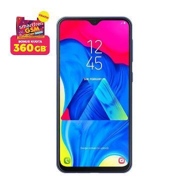 Samsung Galaxy M10 Smartphone [16 GB/ 2 GB/ A] + Stater Pack SP Bosku Smartfren 360 GB
