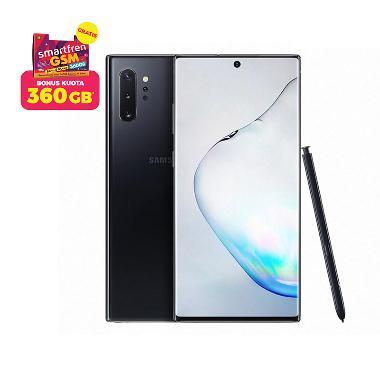 Samsung Galaxy Note10+ Smartphone [512GB/ 12GB/ N] + Stater Pack SP Bosku Smartfren 360 GB