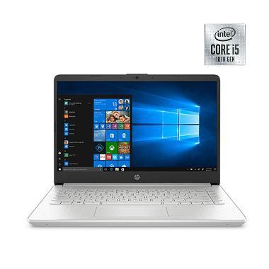 harga HP 14S-DQ1017TU Notebook - Silver [i5-1035G1/ 512GB SSD/ 8GB/ Intel UHD Graphis/ LCD 14 FHD/ Win10] Blibli.com