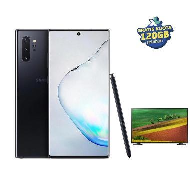 Samsung Galaxy Note10+ Smartphone [256GB/ 12GB] + Bonus Internet 120GB + Free Samsung TV 32 Inch UA32N4001 (Claim via SGI)