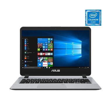 harga OS - Asus A407MA-BV421T Notebook - Star Grey [N4000/UMA/4GB/256GB SATA/14