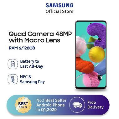 Samsung Galaxy A51 Smartphone [6 GB/ 128 GB] BLUE
