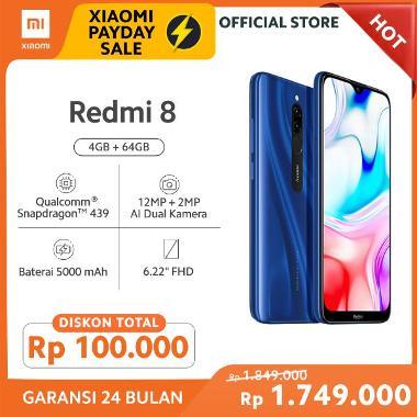 Xiaomi Redmi 8 Smartphone [64 GB/4 GB/O]
