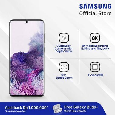 Samsung Galaxy S20+ Smartphone [128GB/ 8GB] + Samsung Galaxy Buds+