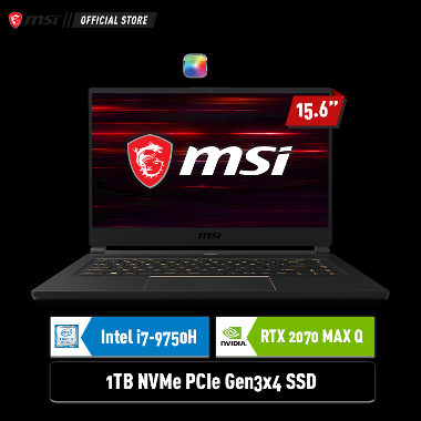 harga MSi GS65 9SF - 427ID Gaming Laptop [i7-9750H/ 1TB SSD/ 16GB DDR4/ RTX 2070 8GB/ Win10Home/ 240HZ FHD IPS 15.6