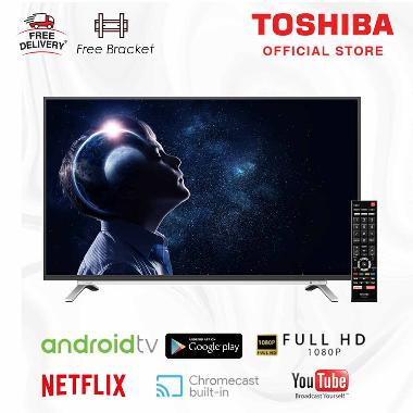 Toshiba 32L5995 2K LED Android Smart Digital TV [32 Inch/ Free Bracket/ UHD with Google You]
