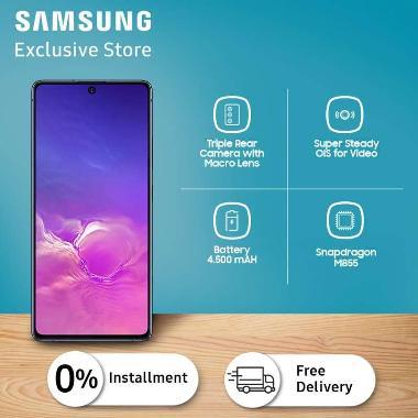 harga Samsung Galaxy S10 Lite Smartphone [128GB/8GB] Prism Black Blibli.com