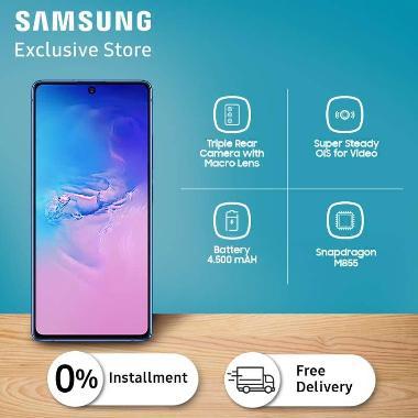 harga Samsung Galaxy S10 Lite Smartphone [128GB/8GB] Prism Blue Blibli.com