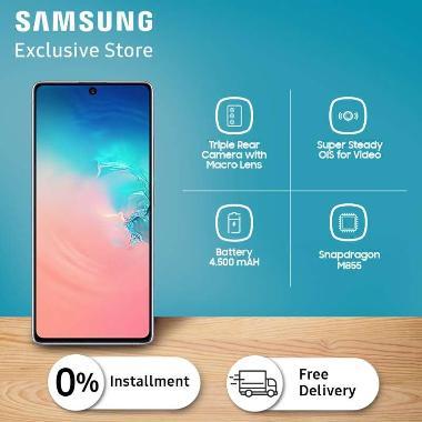 harga Samsung Galaxy S10 Lite Smartphone [128GB/8GB] Prism White