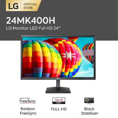 harga LG 24MK400H Monitor Komputer [24 Inch/ LED/ Full HD/ Radeon/ FreeSync] Blibli.com
