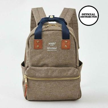 Anello Atelier Series Rounded Backpack - Beige