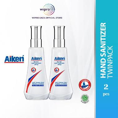 harga Aiken Instant Hand Sanitizer Spray [120 mL/ Twinpack] Blibli.com