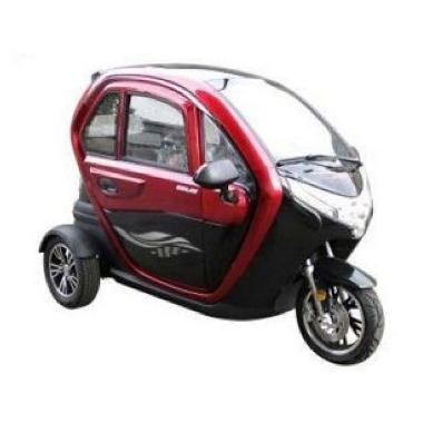 Selis New Balis Sepeda Motor Listrik BLACK RED Ambon