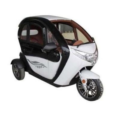 Selis New Balis Sepeda Motor Listrik BLACK WHITE Ambon