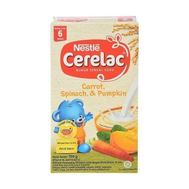 harga Cerelac Carrot Spinach Pumpkin [120g] Blibli.com