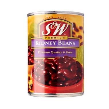 harga S&W Kidney Beans Kacang Merah [432 g] Blibli.com
