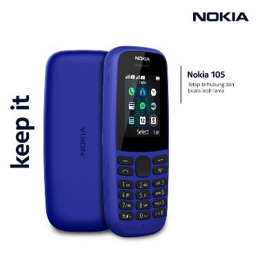 harga NOKIA 105 Dual Sim Display 1.77QQVGA Removable 800mAh FM Radio BLUE Blibli.com