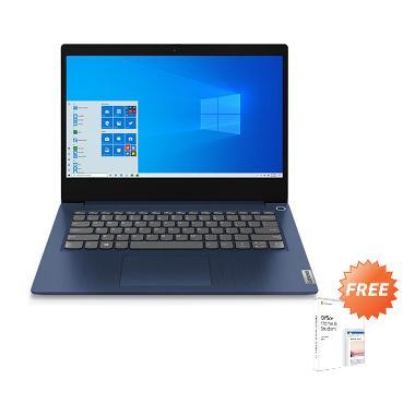 harga Lenovo Ideapad Slim3 81W3001XID Notebook - Blue (R3-4300U/ 4GB+ 4GB/ 512GB SSD/ 14.0FHD IPS/W10 Home) + Free Office Home Student 2019 Blibli.com
