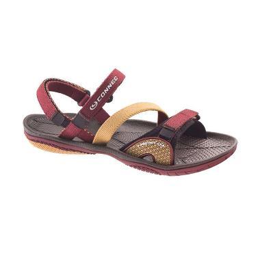 harga Connec Amazon Sandal Gunung Wanita 38 Maroon Beige Blibli.com