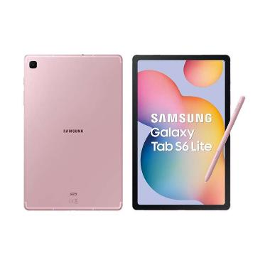 harga Samsung Galaxy Tab S6 Lite P615 [4GB/64GB] Chiffon Pink Blibli.com