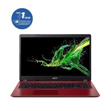 Acer Aspire A315-42-R0GT Notebook - Red [15.6 Inch/ R3-3200U/ RadVeg 3/ 4GB/ 1TB/ NODD / Win10 / NXHHPSN001] + Free 1Yr Ext Warranty + Bag