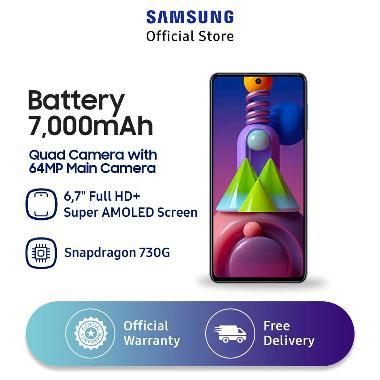 Flash Sale - Samsung Galaxy M51 Smartphone [128GB/ 8GB] White