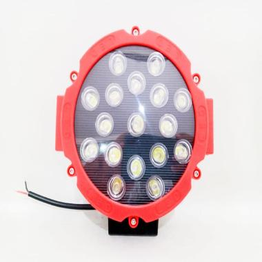 harga Lampu Sorot LED Worklight 17 Titik Mata Tembak 51 Watt Mobil Motor 51Watt offroad HITAM Blibli.com