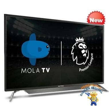 harga Polytron MOLA LED Smart TV 43 Inch - HITAM Kalimantan Barat Blibli.com