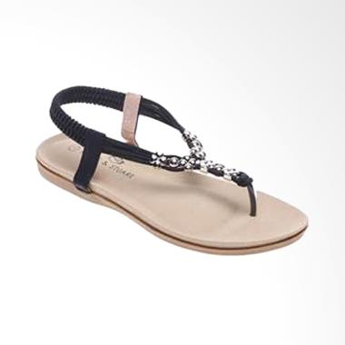 Marc & Stuart F6-MSHK-KO-3 Black Sepatu Sandal Wanita