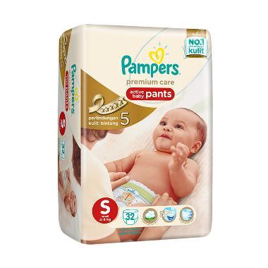 Pampers Popok Celana S-32 Premium Care - Popok Bayi