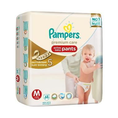 Pampers Popok Celana M-68 Premium Care - Popok Bayi