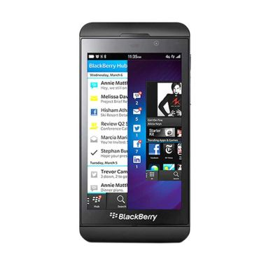 BlackBerry Z10 Hitam Smartphone     ...