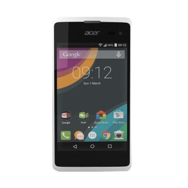 Acer Liquid Z220 Smartphone - White [8 GB/ 1 GB/ Garansi Resmi]
