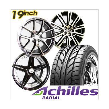 harga Paket Cicilan 4 pcs Achilles Velg Racing [19 Inch/PCD 5x114.3] + 4 pcs Achilles ATR Sport 245/40/19 Ban Mobil Blibli.com