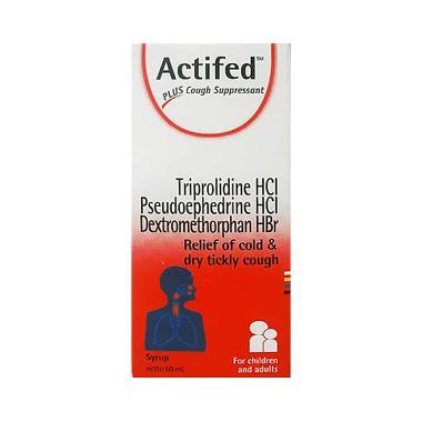 Actifed Merah Obat Kesehatan [60 mL]