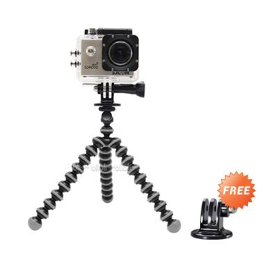 Octopus Gorilla Mini Tripod With Mo ...  B-PRO & Xiaomi Yi Camera