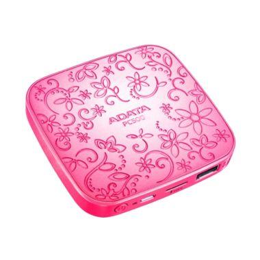Jual Adata PC 500 Beauty Pink Power Bank [ 5000 mAh ] Harga Rp 130000. Beli Sekarang dan Dapatkan Diskonnya.