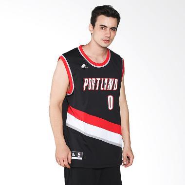 adidas Men Basketball NBA Portland  ... ca Jersey Basket (A43459)