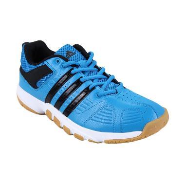 adidas Men Quickforce 5 M29934 Sepatu Badminton - Blue