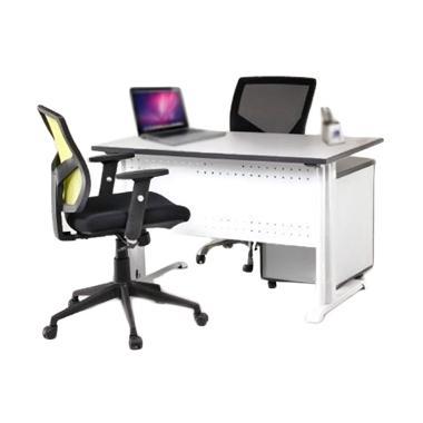 Aditech FR 09 Meja Kantor - Grey