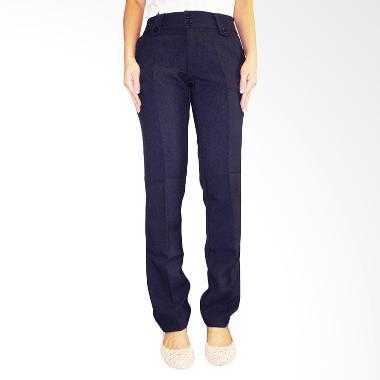 Adore Basic Celana Panjang - Biru Dongker