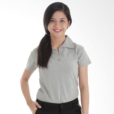 Adore Ladies Grey Kaos Polo Wanita