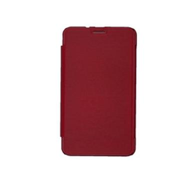 Advan Merah Flip Cover Casing For Vandroid E1C Pro